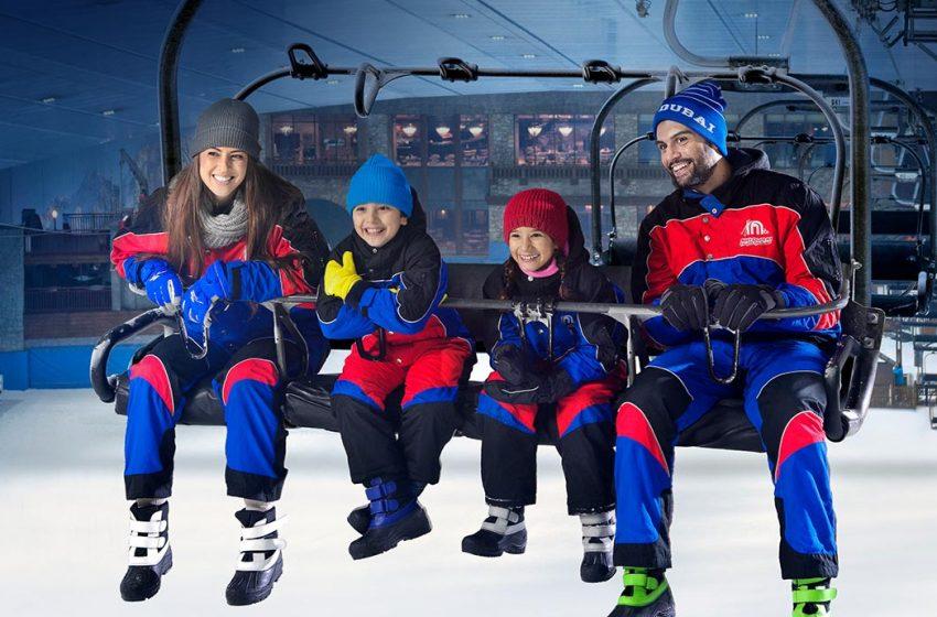סקי דובאי – קניון האמירויות