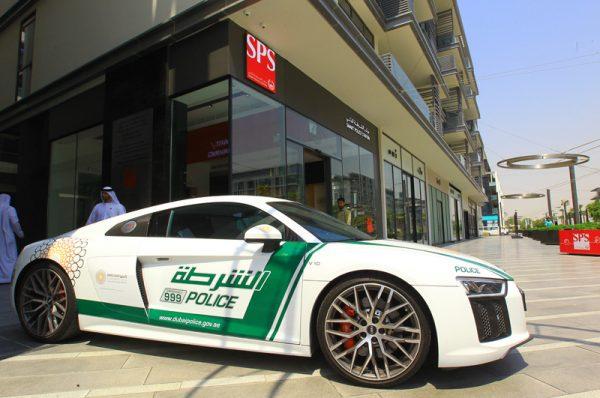 רכב של משטרת דובאי
