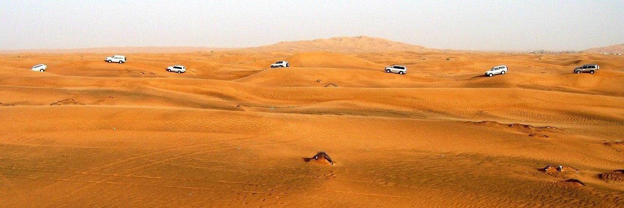 טיול במדבר דובאי