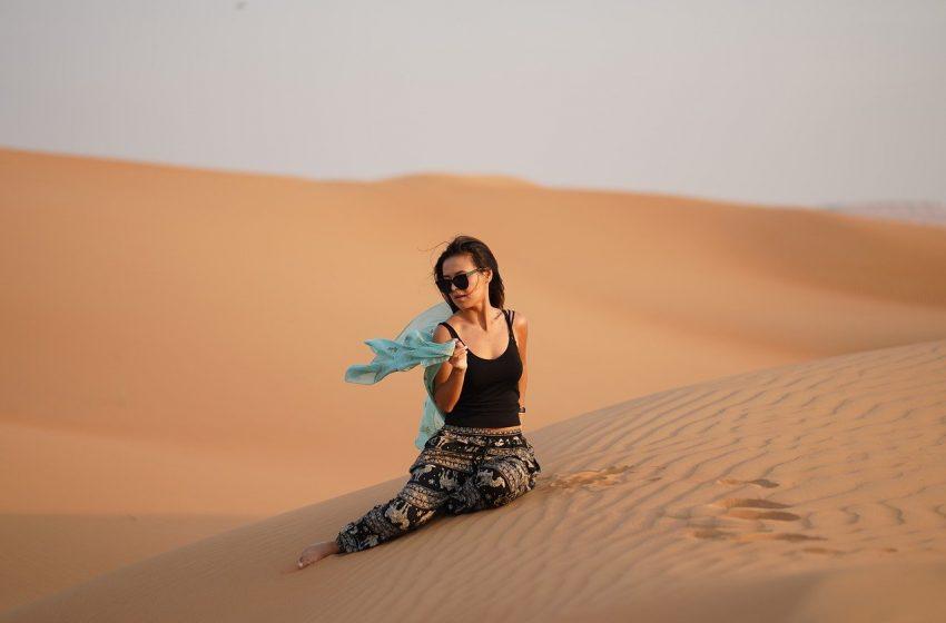 טיול ספארי במדבר דובאי